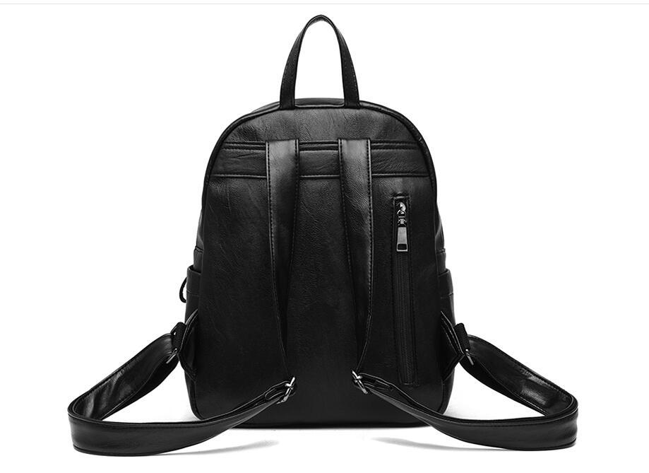 HTB11JtaOhjaK1RjSZFAq6zdLFXaz On sale New 2019 Women ladies PU Leather small Backpacks for Teenage Girls Female School Shoulder Bag bag pack mochila