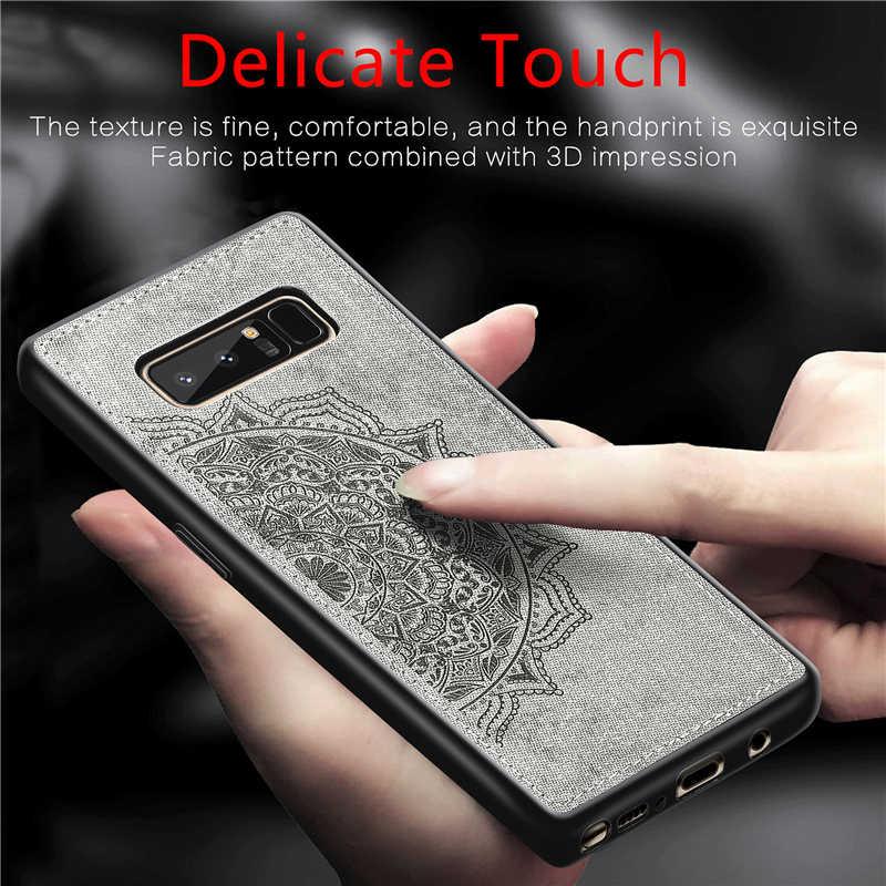 Fundas para Samsung Galaxy Note 8 funda magnética de moda estilo a prueba de golpes funda de tela para Samsung Note 8 funda de teléfono nota 8