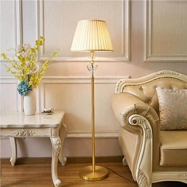 Nordic Stehlampe Kristall Stehlampen LED Stehleuchten für Wohnzimmer ...