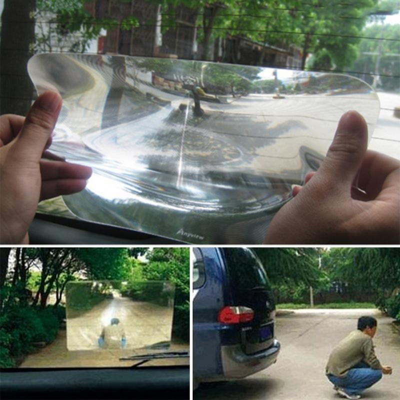 8*10inches/20*25cm Wide Angle Fresnel Lens Car Parking Reversing Sticker Useful Enlarge View Transparent stickers automobile