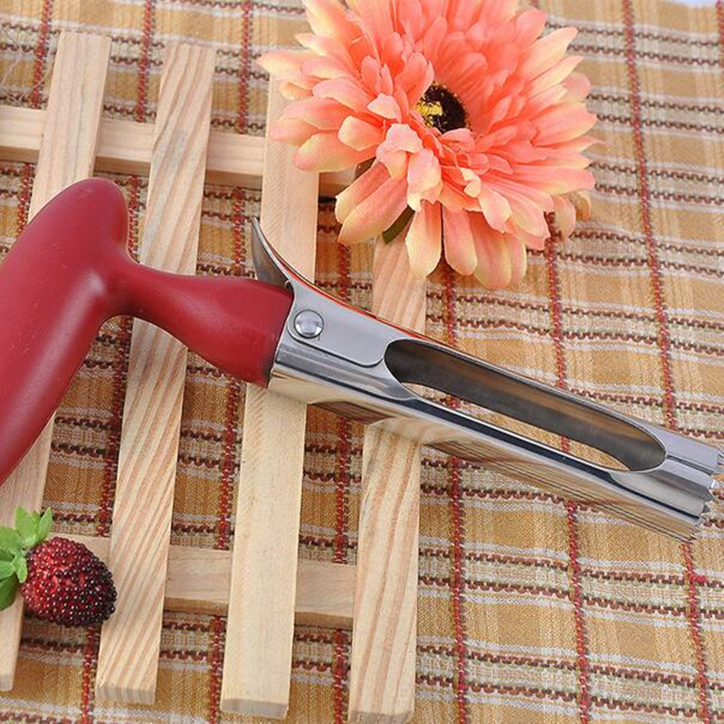 1PC Stainless Steel Fruit Apple Corer Remover Pitter Seeder Knife Coring Device Separator Digging Tool Kitchen Accessories in Corers from Home Garden