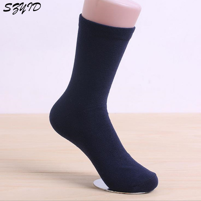aebabdcdb7a1 2018 New Classic Arrival 5pairs Brand Cotton & Bamboo Fiber Business Men's  Socks Men's Deodorant Dress Socks Winter Warm Socks-in Socks from Men's  Clothing ...