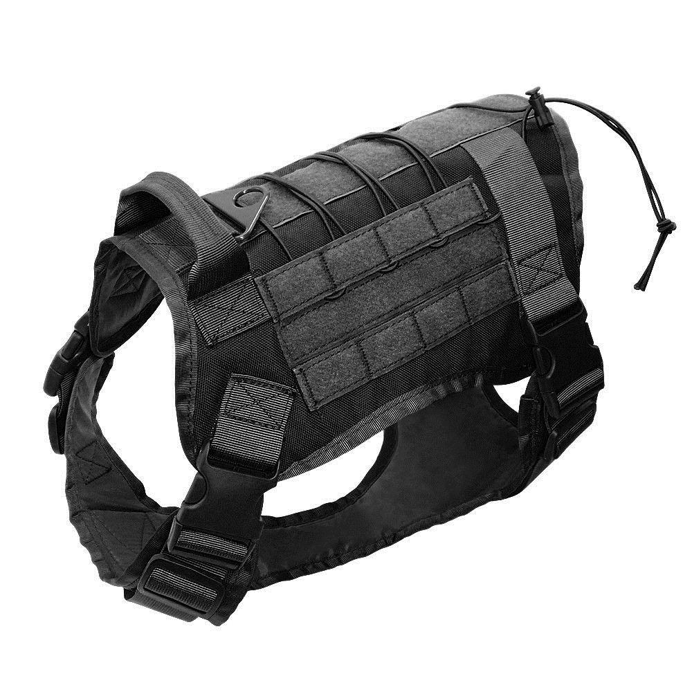 Outdoor Training Dog Harness Adjustable Nylon Vest