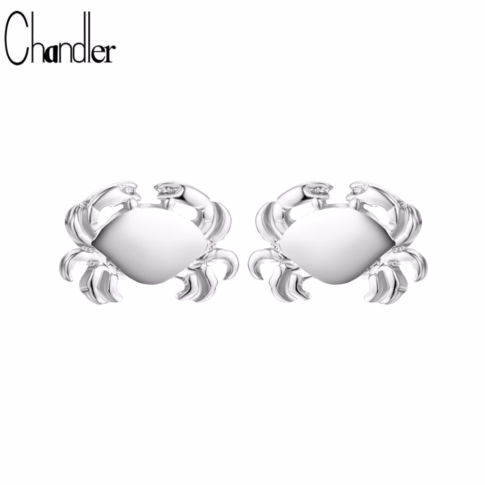 chandler 2017 hot slae crab stud earrings for women party