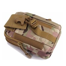 New Arrival Camouflage Outdoor Tactical Sport Multi-functional Waist Belt Pouch Wallet Storage Bag For Smart Mobile Phones