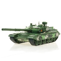 Chinese Type 99 Battle Tank Model 1/35 Scale Diecast Finished Alloy Toy For Collect Gift
