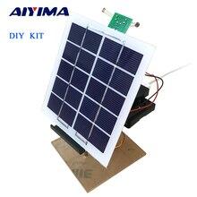 Aiyima 1 комплект solar Панель Мощность автоматическое отслеживание контроллер мобильного Зарядное устройство электронных DIY комплекты