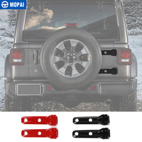 MOPAI ABS Car Spare Tire Tailgate Door Hinge Covers Stickers for Jeep Wrangler JL 2018 Up Exterior Accessories Car Styling