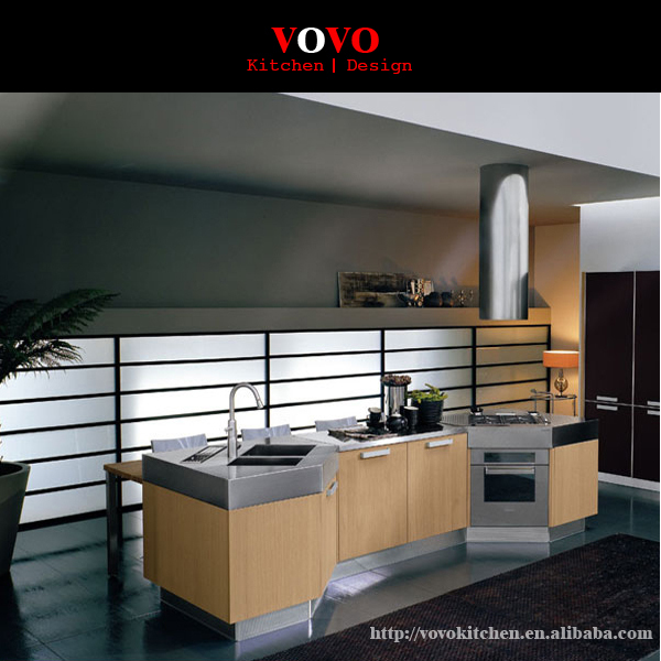 Mfc Particle Board Kitchen Cabinets
