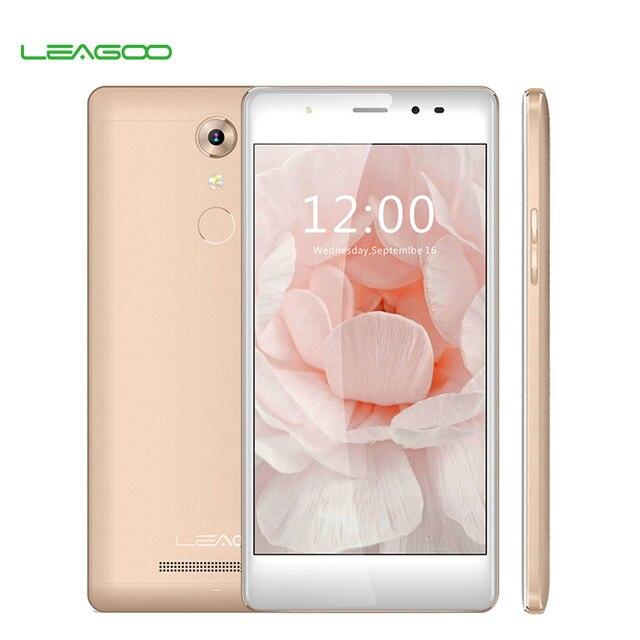 Смартфон Leagoo T1, операционная система Android 6.0, четырехядерный процессор MT6737, 5,0-дюймовый экран, ОЗУ 2 Гб, постоянная память 16 Гб, мобильный телефон 4G LTE с отпечатком пальца 13 мегапикселей 2400 мА/ч