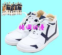 Hinata Shoyo kageyama tobio haikyuu cosplay costume uniform punk sports shoes boots Custom