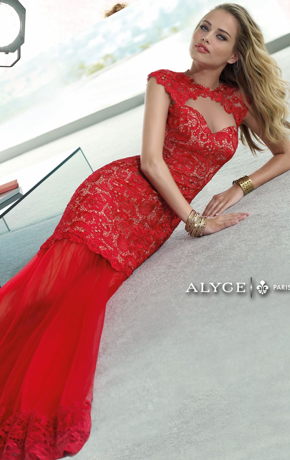 Online Get Cheap Red Lace Mermaid Prom Dress Backless -Aliexpress ...
