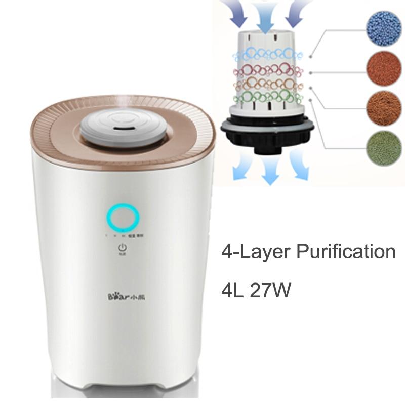 15%JA104 Aromatherapy Diffusers Automatic Humidistat Control Ultrasonic Humidifier 4L 27W Mist Maker 360 Degree Rotating Nozzel