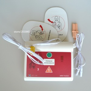 Image 3 - אישור CE חולים אוטומטיים חיצוני AED/סימולציה הכשרה בעזרה ראשונה מכשיר עם Pad באנגלית והונגרי