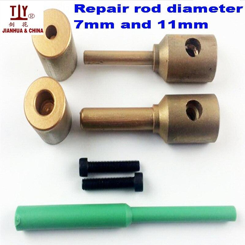 Doprava zdarma PPR vodovodní potrubí opravit nástroj, opravit netěsnosti a mezery 7 a 11 mm plastové trubky svařování dílů zápustky, svařovací forma
