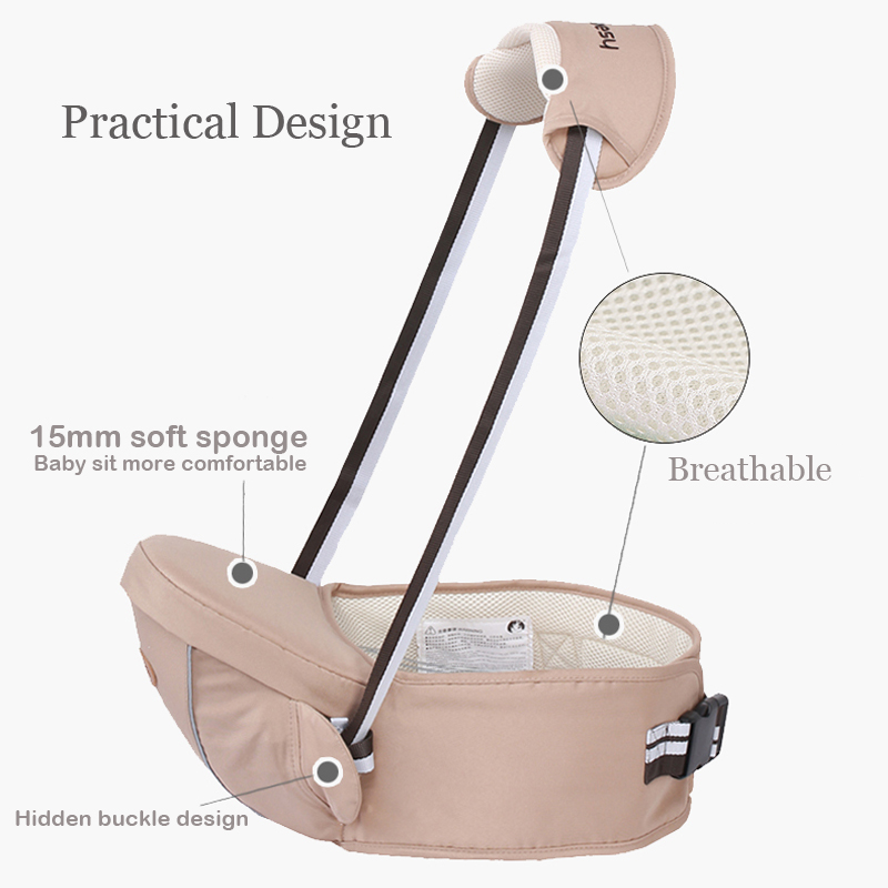 Multifunctional Baby Carrier Backpack And Baby Sling Hipseats For Kids And Infants 4