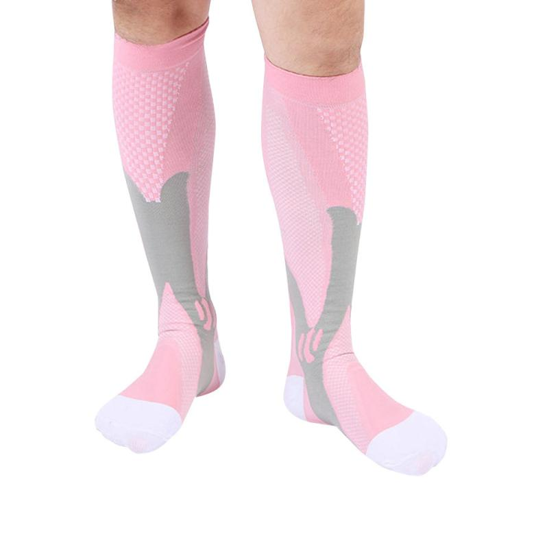 Socks 2018 Hot Sale Men Womens Compression Socks Travel Boost Stamina Female socks Thigh High For Womens mens #F ...