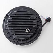 цена на 1 Set Vehicle Car 7 Inch LED Headlight H4 H13 Amber Angel Eyes Lamp Bulb For JEEP CJ JK TJ Wrangler Harley Car Accessories