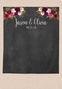 Image 4 - Allenjoy חתונה בד באנר צילום רקע פרח אישית שילוט רקע תא צילום שיחת וידאו בודהה פוטושוט