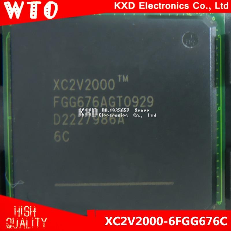 Free Shipping  XC2V2000-6FGG676C     XC2V2000-6FGG676     BGA-676    2pcslot