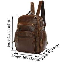 China Wholesale Genuine Leather Shoulder Bag Messenger Backpack Laptop # 2751B-1