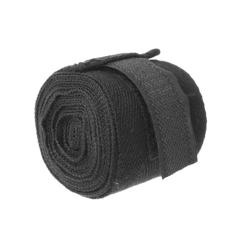 2,5 M de algodón vendaje de muñeca de boxeo vendaje de mano de protección de combate de boxeo Muay Thai guantes de entrenamiento de protección estiramiento