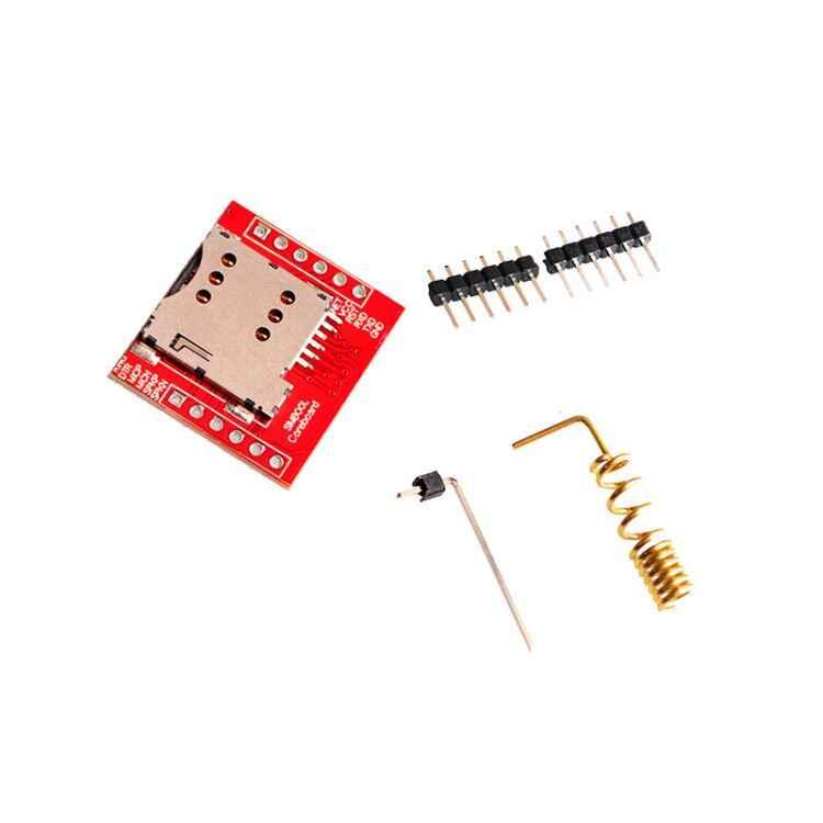 Smallest SIM800L GPRS GSM Module MicroSIM Card Core BOard Quad-band TTL  Serial Port