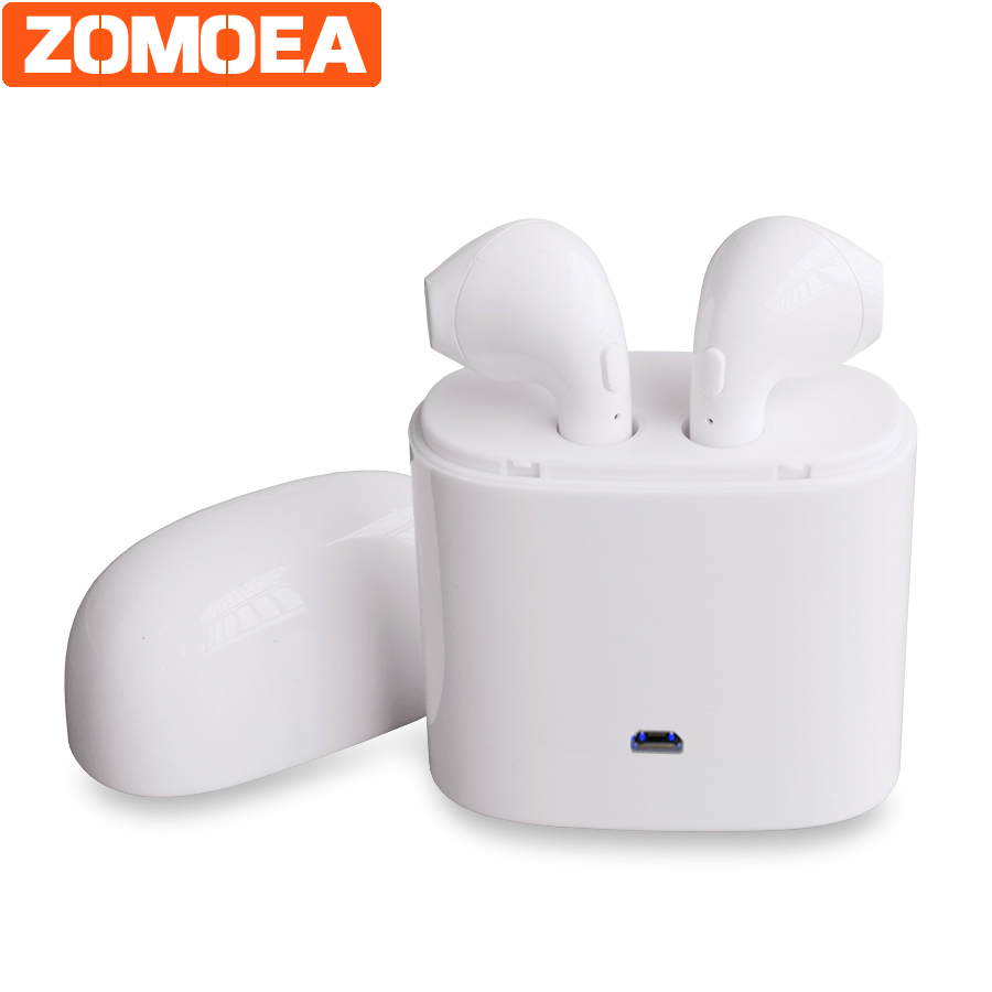 Portable Subwoofer Stereo Bluetooth 4.2 Headset Earphone Headphone Wireless Handfree Earbuds Universal for iPhone Android etc sport mini stereo bluetooth earphone v4 0 wireless crack headphone earbuds hand free headset universal for samsung iphone7 sony