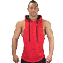 2019 Explosion Mens Hoodie Vest Summer Fitness Fashion Camouflage Sleeve Top High Quality Sleeveless Men