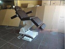 تحكم في القدمين كرسي العناية بالجمال الكهربائية. سرير تمريض طبي صغير للجراحة الجراحية ،