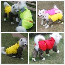 Bigeyedog Large Dog Raincoat Small Big Dog Clothes Waterproof Clothing French Bulldog Golden Retriever Labrador Husky Pitbull