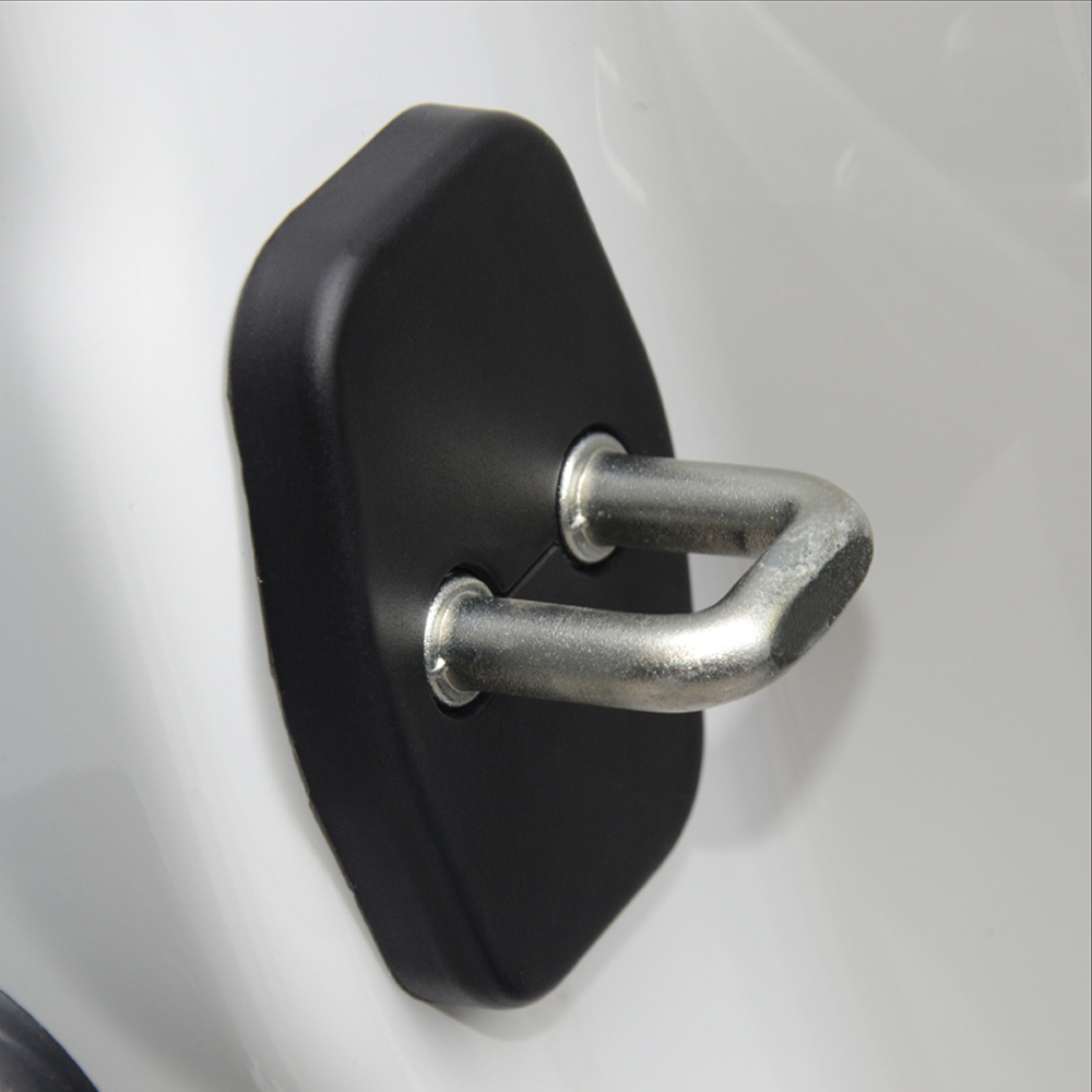 Car Styling Car Door Lock Cover Anti Corrosive For Peugeot