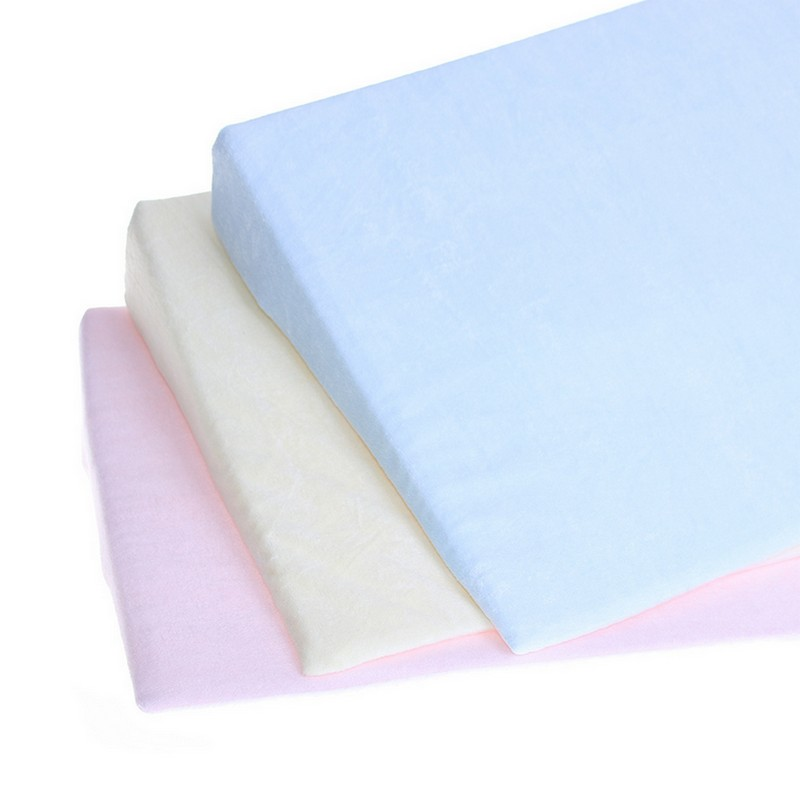 Anti Baby Spit Baby Wedge Pillow with 10 Degree Inclination for Baby Head Shaping 4