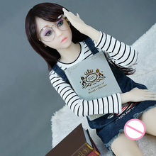 New 128cm No Breast Sex Dolls Japanese Mini Sex Doll Life Like Silicone Love Doll Male Sex Toy