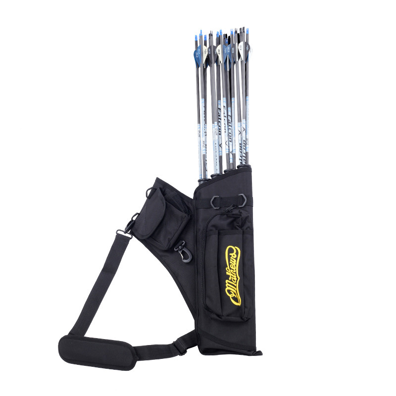 Hunting Arrow Bag Holder <font><b>4</b></font> <font><b>Tubes</b></font> Large Capacity Accessories for Outdoor Archery FH99 image