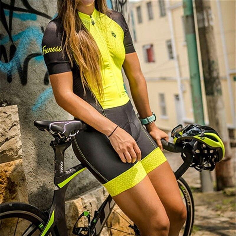 2019 Frenesi Vrouwen maillot de cyclisme sexy corps triathlon skinsuit schaatspak rijden équipe ski costume course speedsuit ensemble maillot de bain