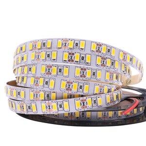 Image 1 - 120 leds/m 5 m 5630 led luz de tira 12 v dc flexível led luz 600led 300led pixel fita não impermeável led lâmpada de natal