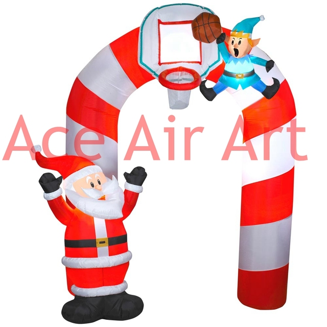 Admirable Aliexpress Com Buy Inflatable Giant Christmas Decoration Santa Easy Diy Christmas Decorations Tissureus