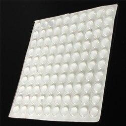 100 x adhesive silicone feet bumpers anti collision crash pad door cupboard drawer cabinet kitchen children.jpg 250x250