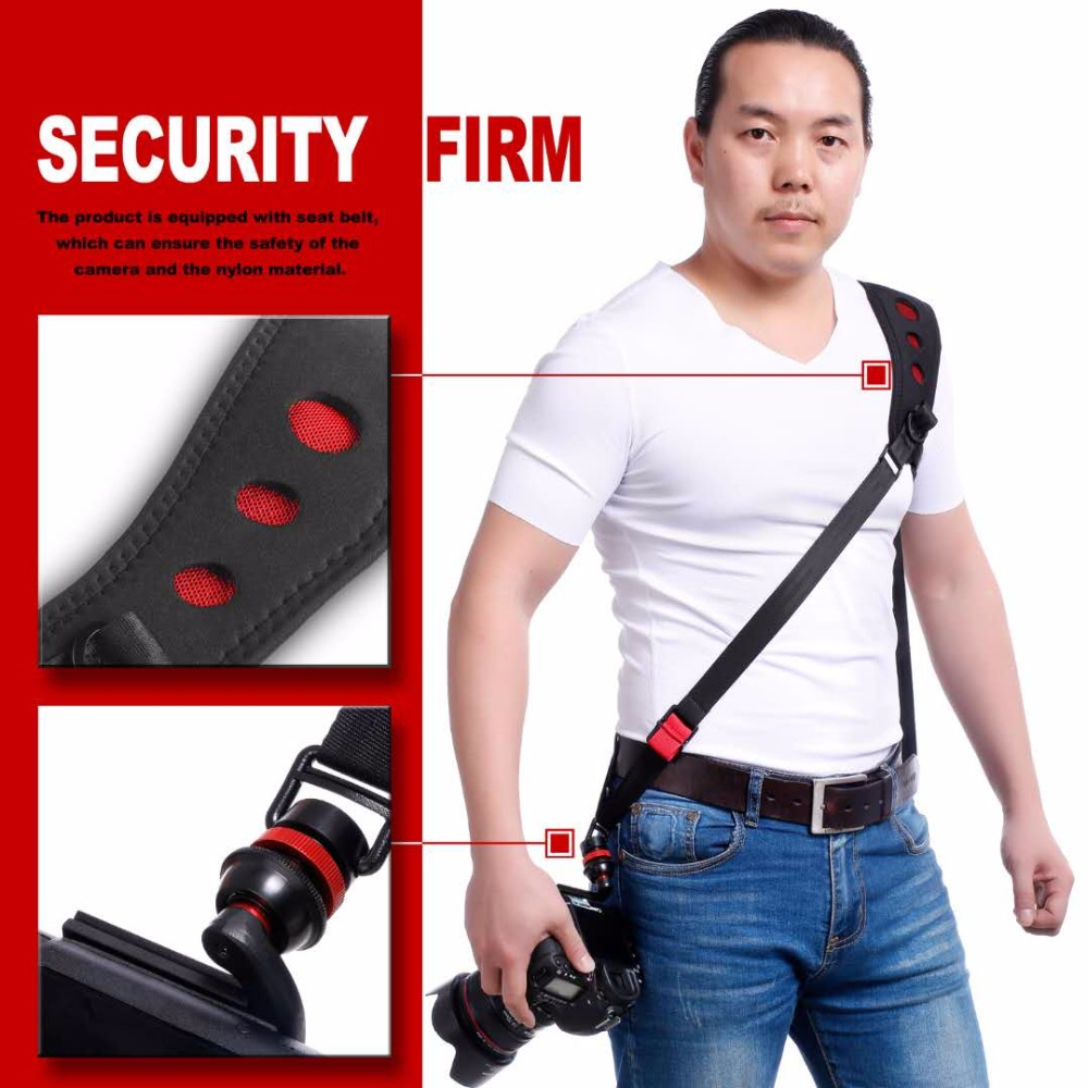 1set SLR camera strap fast gun series Fast shoulder strap for canon nikon 5D3 D800 5D4 70D D610 700D 600D D7000 D7200 DLSR threaded nema17 stepper w 460mm tr8 12 leadscrew acme leadscrew threaded rod nema17 stepper motor page 4