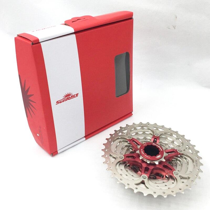 Sunrace CSRX1 Bicycle Freewheel Road Bike Cassette 11Speed Bicycle flywheel Cycling Freewheel 11 36T silver Bicycle flywheel