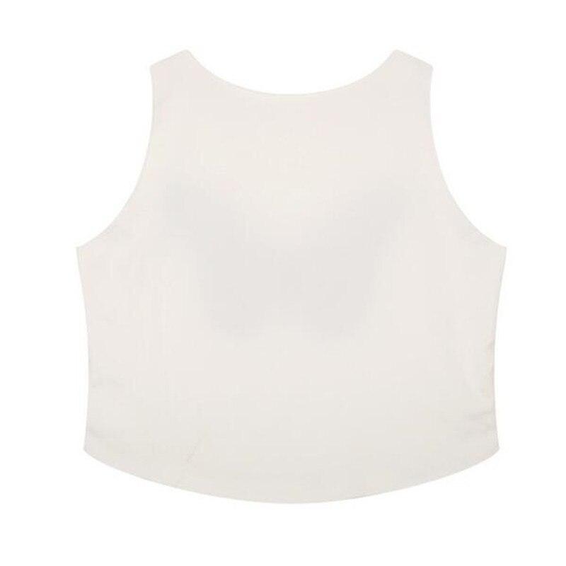 3D Crop Tees Halter Short White Tops Harajuku Cute Fashion Expression Print T-shirt Womens Casual Sexy 2018 Summer T Shirts 427