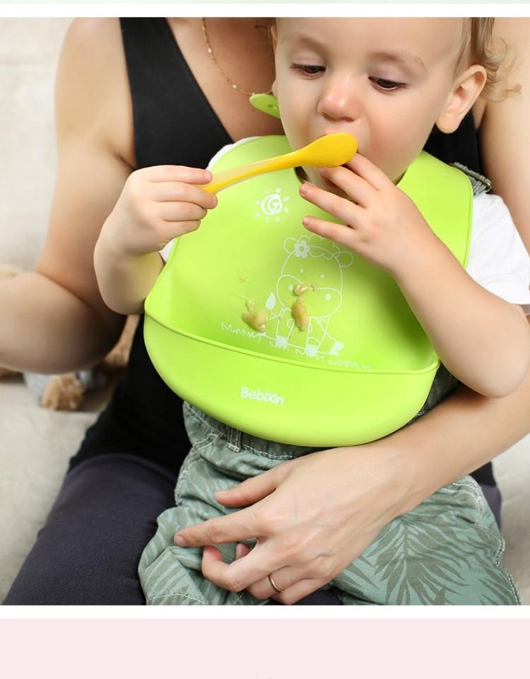 Silicone Baby Bibs Lovely Animals Meals Pocket Bib Waterproof Feeding Newborn Infant Food Bib Baberos Bebes 2018 Boys' Baby Clothing