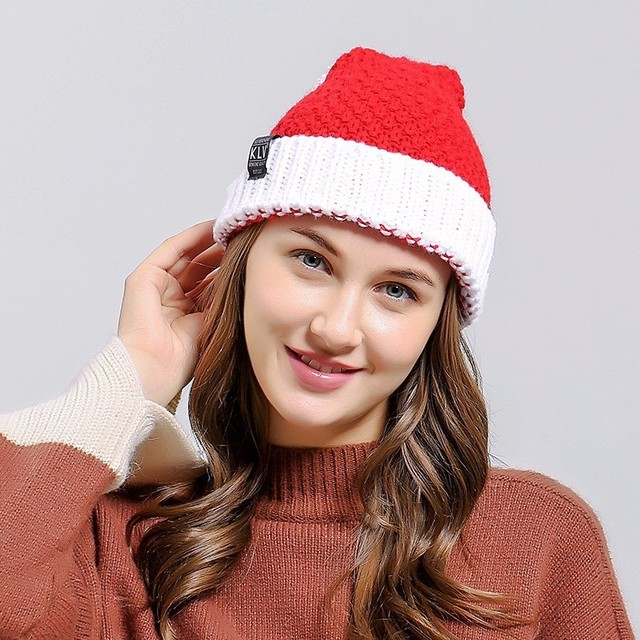 e99b0b88caa New Styles 2017 Autumn and Winter Men and Women Big Beard Cap Christmas  Wool Hat