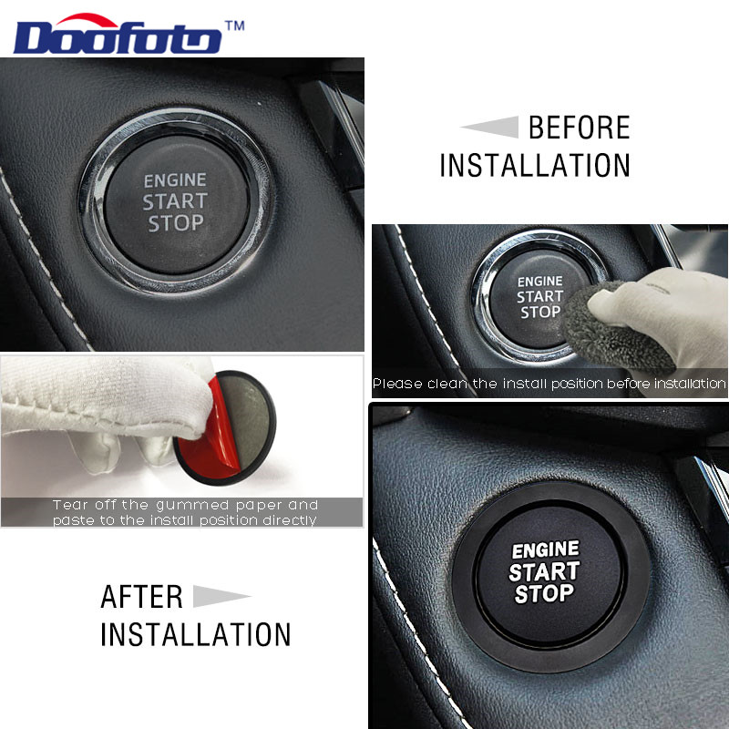 Start Engine Button Ring for TOYOTA (34)