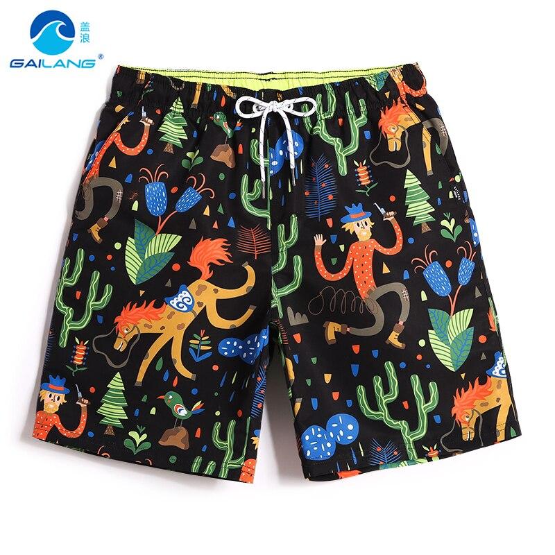 Men's beach   shorts   swimming or running swimwear surfboard plavky sexy praia   board     shorts   bathing suit liner swimsuit