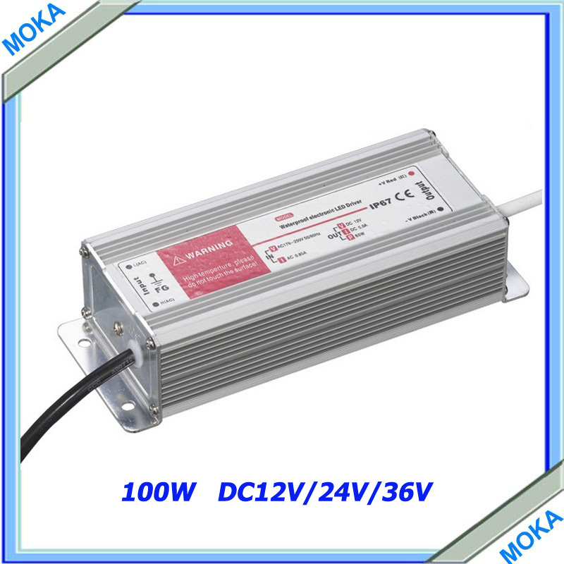 Free Shipping Single Output Switch Power Supply Waterproof Switching Power Supply 100w DC12V free shipping czh618f 100c 100w 2u fm stereo radio transmitter exciter power adjustable from 0 to 100w