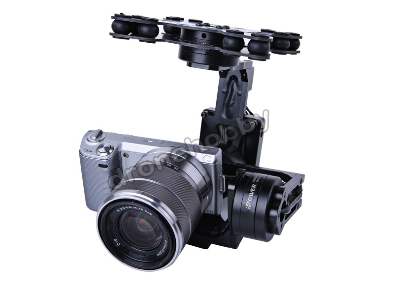 iFlight G40 3 Axis DLSR Aerial Gimbal for SONY 5N NEX5/7 RX-100 BMPCC Camera Aerial photography version free shipping new nex 7 camera repair and replacement parts nex7 motherboard for sony nex 7 mainboard nex 7 main board