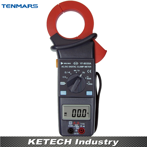 AC/DC Clamp Meter TENMARS YF-8030A yf 172 tenmars made in taiwan digital light meter with free shipping
