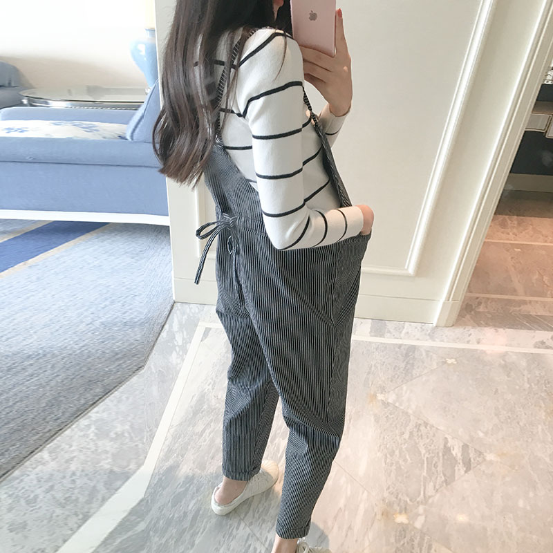 2018 winter casual pregnant women pure slip bib pants jumpsuits overalls maternity trousers clothing 2017 summer maternity bib overalls black white pregnancy dungarees pregnant pants fashion jumpsuits for pregnant women